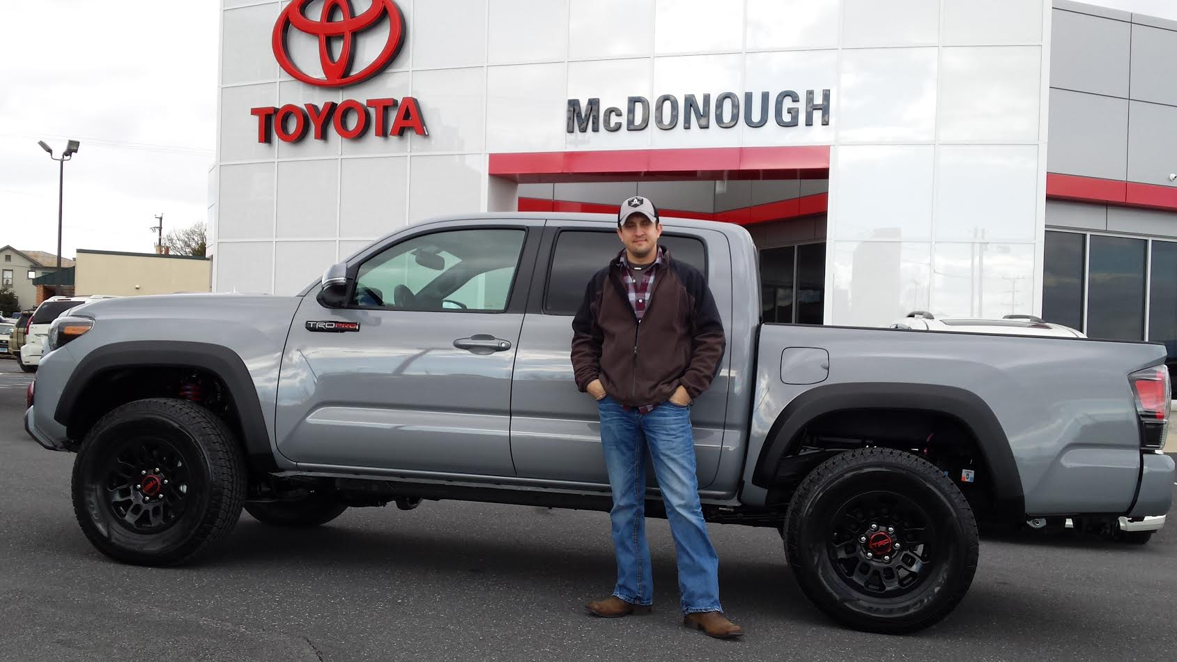 Congratulations To Jake Hoffman On His New 2017 Toyota