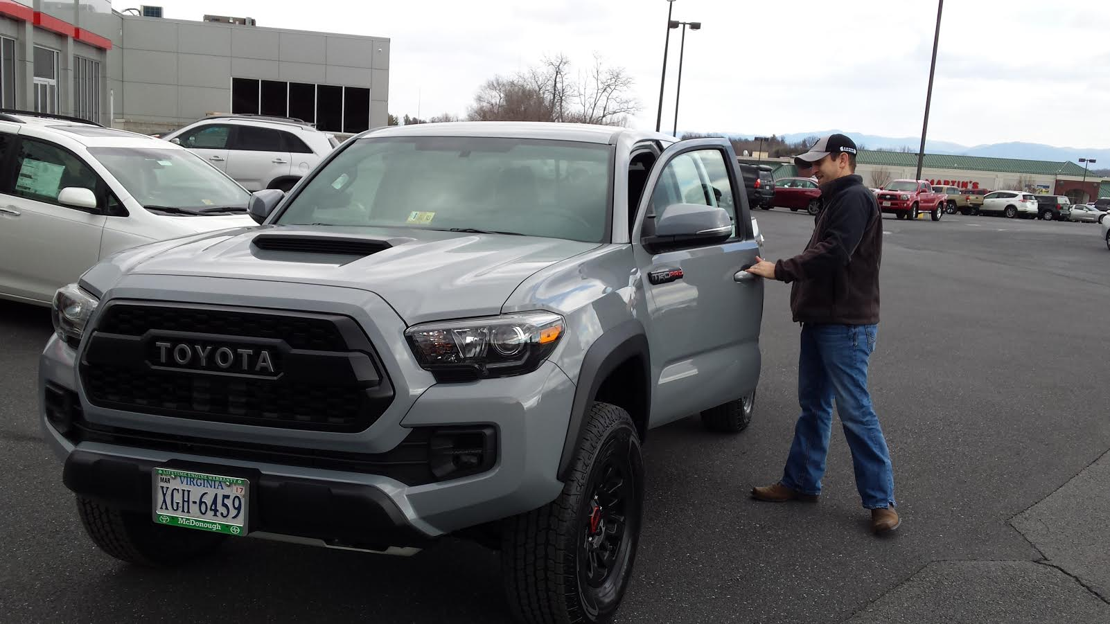 Posted In Staunton Toyota Dealer Comments Off On Congratulations To Jake Hoffman His New 2017 Tacoma Trdpro Cement S Ociate Dave