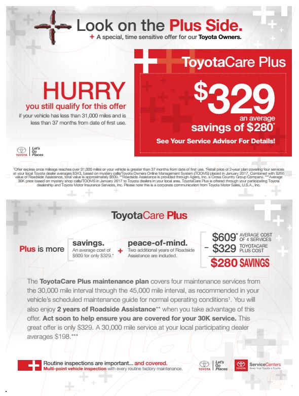 Toyota Care Plus >> Toyotacare Plus At Mcdonough Toyota Staunton Va Serving